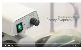 stuart rotary evaporator video