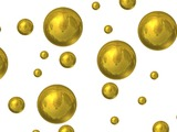 Gold nanoparticles are relatively stable and non-toxic