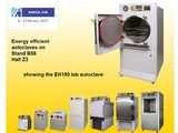 Priorclave will be showcasing one its most versatile front loading autoclaves at the Medlab