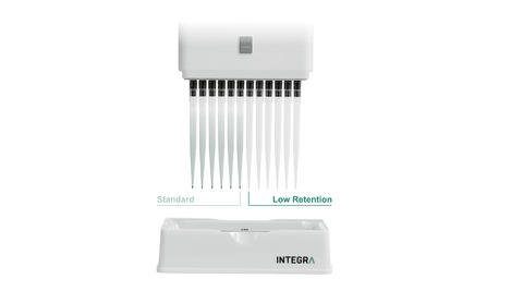 Integra has introduced Low Retention pipette tips