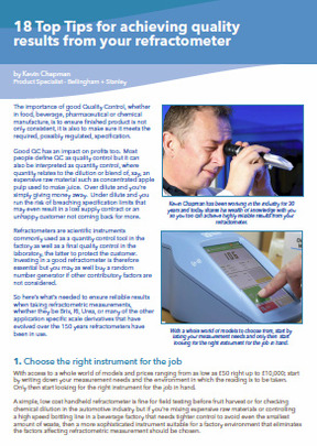 top tips refractometers