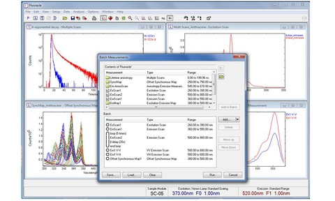 Fluoracle software with batch measurement option