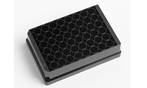 Porvair Sciences's 'FlowerPlate' microplate was developed and manufactured with and for m2p-labs in Germany