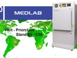 Priorclave will be on stand Z1 - C58 at Medlab.