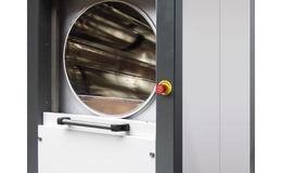 Astell's new sliding door circular chamber autoclave range