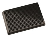 Black Krystal UV Quartz bottomed microplate