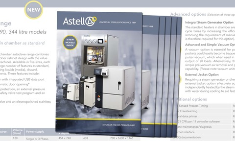 Astell's latest product guide features eight new models