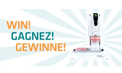 Integra Biosciences are giving away a VIAFLO 96/384 electronic pipette