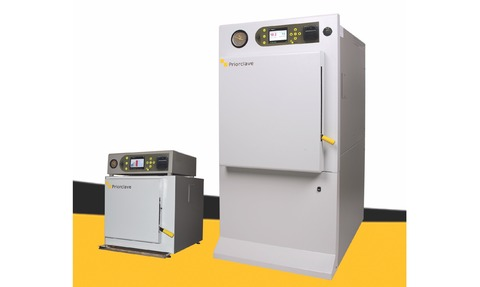 Tactrol 3 is now fitted as standard on all Priorclave laboratory autoclaves and research sterilisers