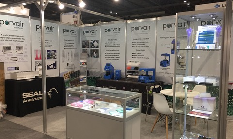 Porvair Sciences will be showcasing its full range of products On Stand B14