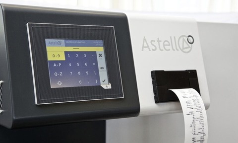 Astell's latest controller software, allows password protected logs to be accessed instantly.