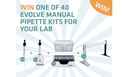 Win one of 40 EVOLVE pipette kits