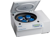 Eppendorf has new rotors for its Centrifuges 5804/5804 R and 5810/5810 R .