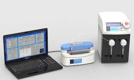 Mitos Dropix provides liquid sampling and processing over a 10 nL – 50 ?L volume range utilising d