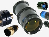 Array of Resolve Optics non-browning lenses.