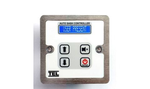 Modified autosash controller digital display