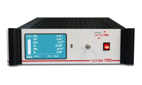 Rapidox 7100 Multigas Analyser is capable of measuring a wide range of gases.