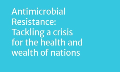 Antimicrobial Resistance: Tackling a crisis for the health and wealth of nations