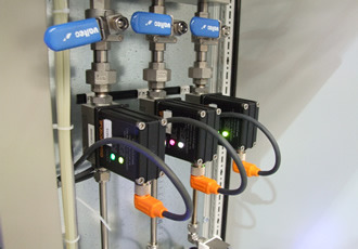Dirty water flowmeters insitu