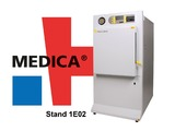 Priorclave will be on stand EO2 in Hall 1 at Medica.