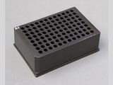 Porvair Sciences black plates are precisely manufactured to applicable ANSI/SLAS dimensions