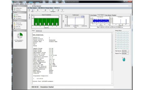 Agilent Technologies Inc. has introduced an enhanced version of its Dissolution Workstation Software