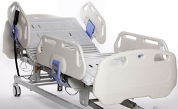 Mobile and Adjustable Hospital Bed